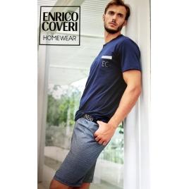 Pigiama corto Enrico Coveri EP9042