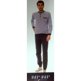 Pigiama uomo Bip Bip 1466 color antracite