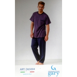 Pigiama uomo Gary D65004 colore BLUE