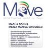Maglia Termica da Donna, Mezza Manica, Girocollo,Traspirante