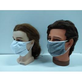 2 Mascherine protettiva in tessuto cotone jersey bi-elastico riutilizzabili