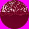 Top in raso + Culotte in raso e pizzo color RUBINO