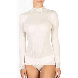 Maglia Lupetto M/L colore bianco-lana