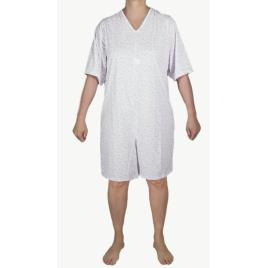Tutona intera donna ospedaliera estiva maniche corte pantaloni corti