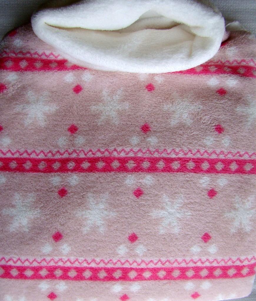 Poncho Milk&Honey 178 rosa