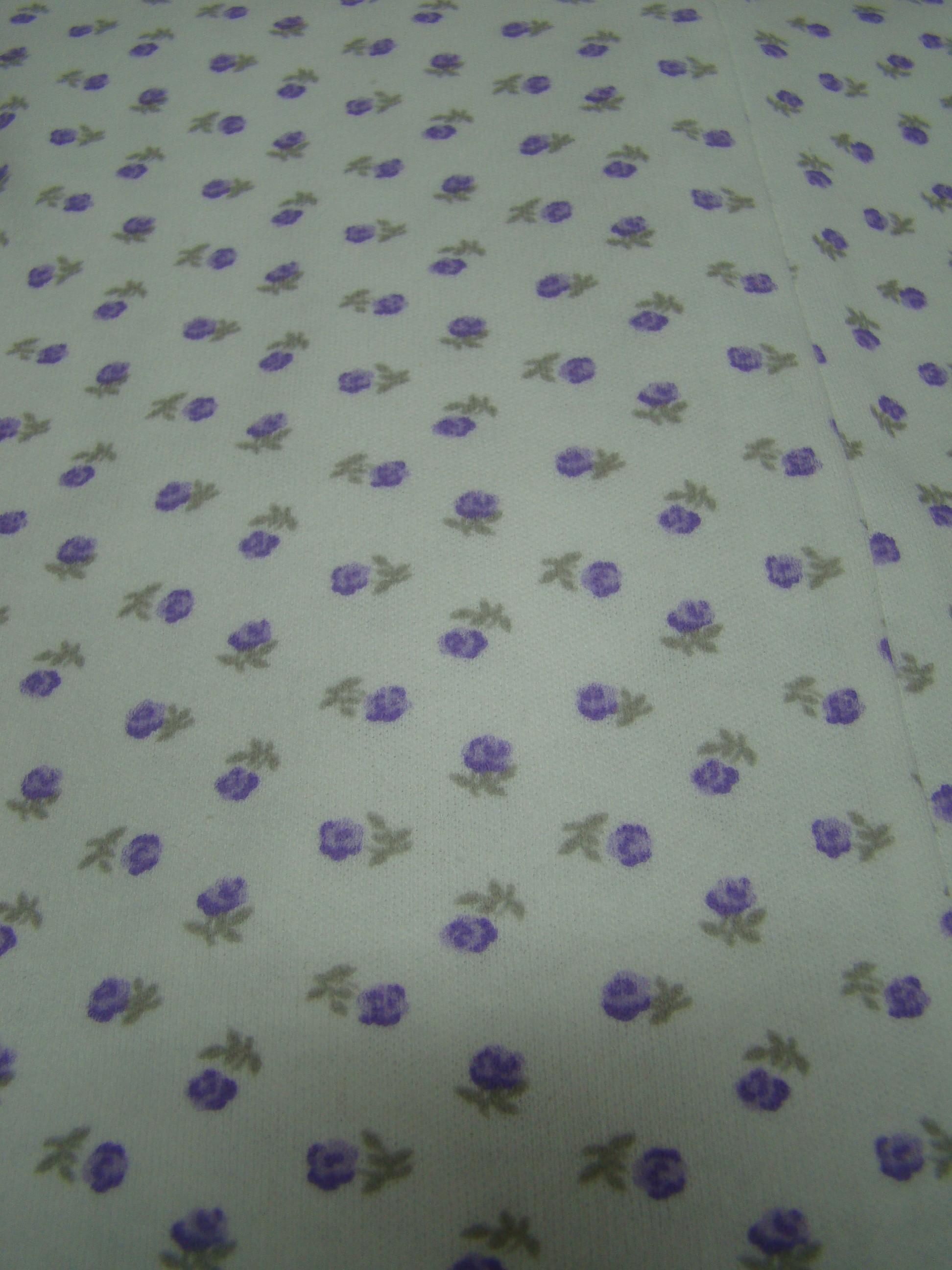 Rosette piccole viola con gambo