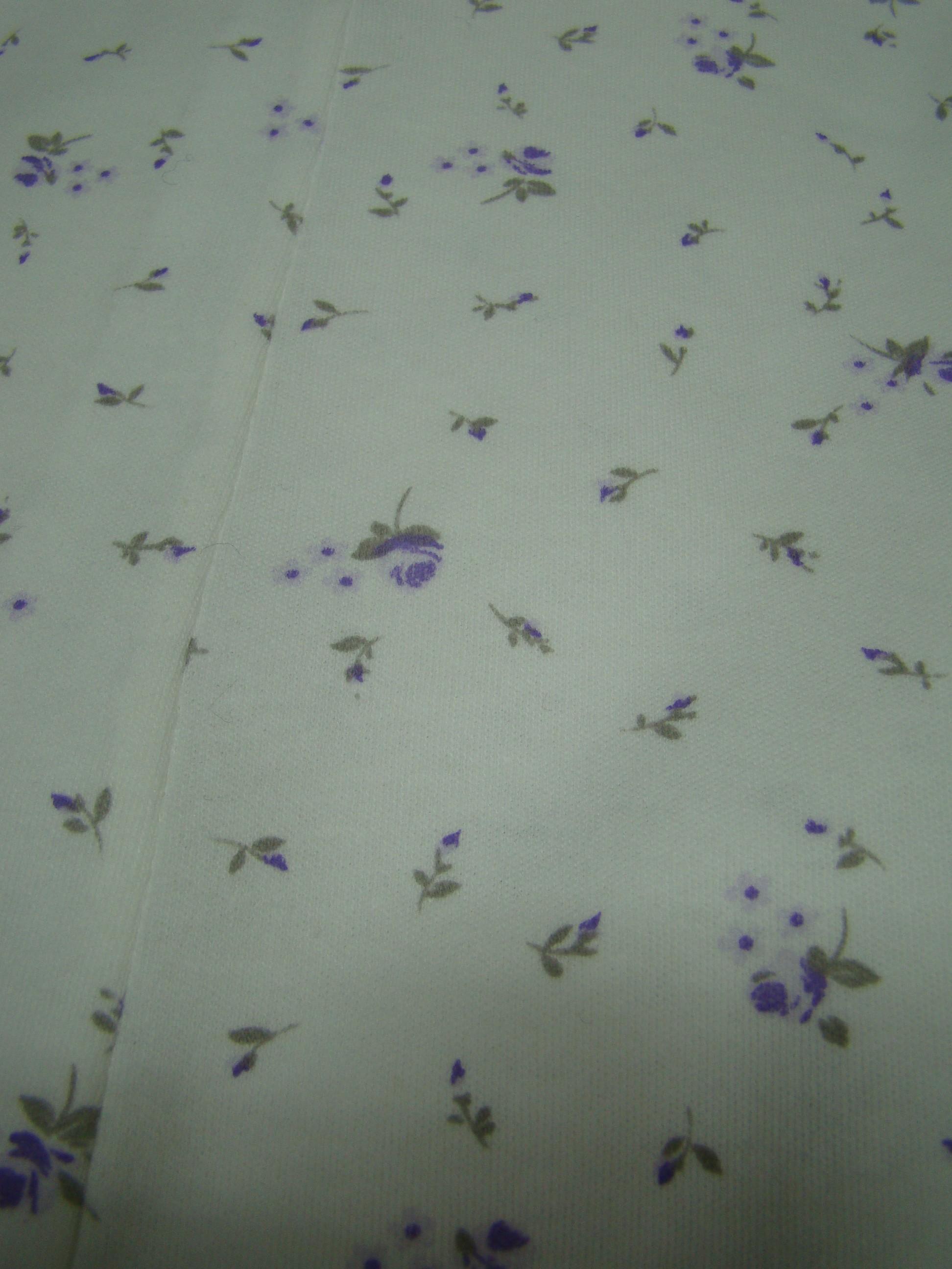 Rosette lilla viola con fiorellini