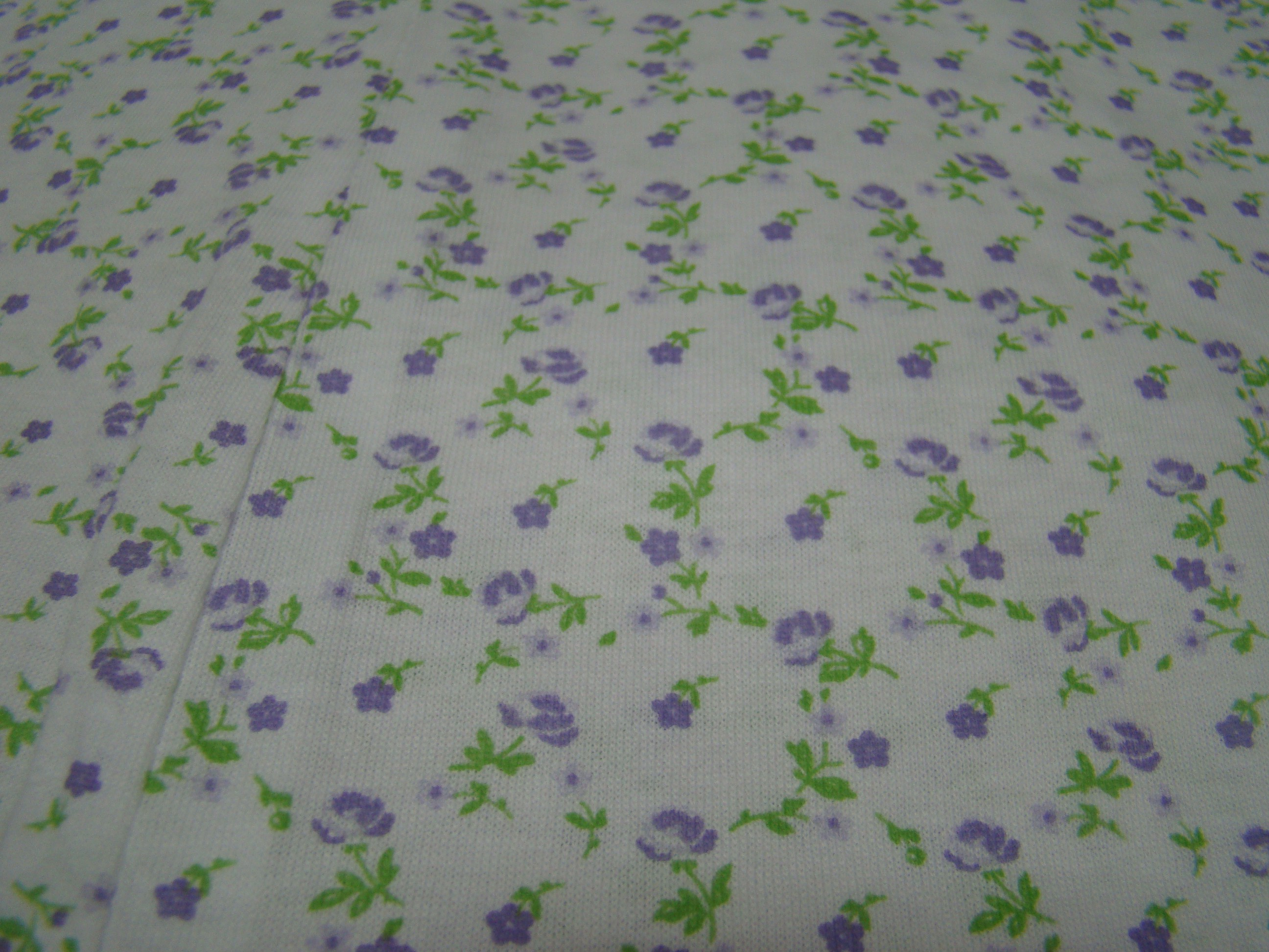 Fiorellini viola gambo verde