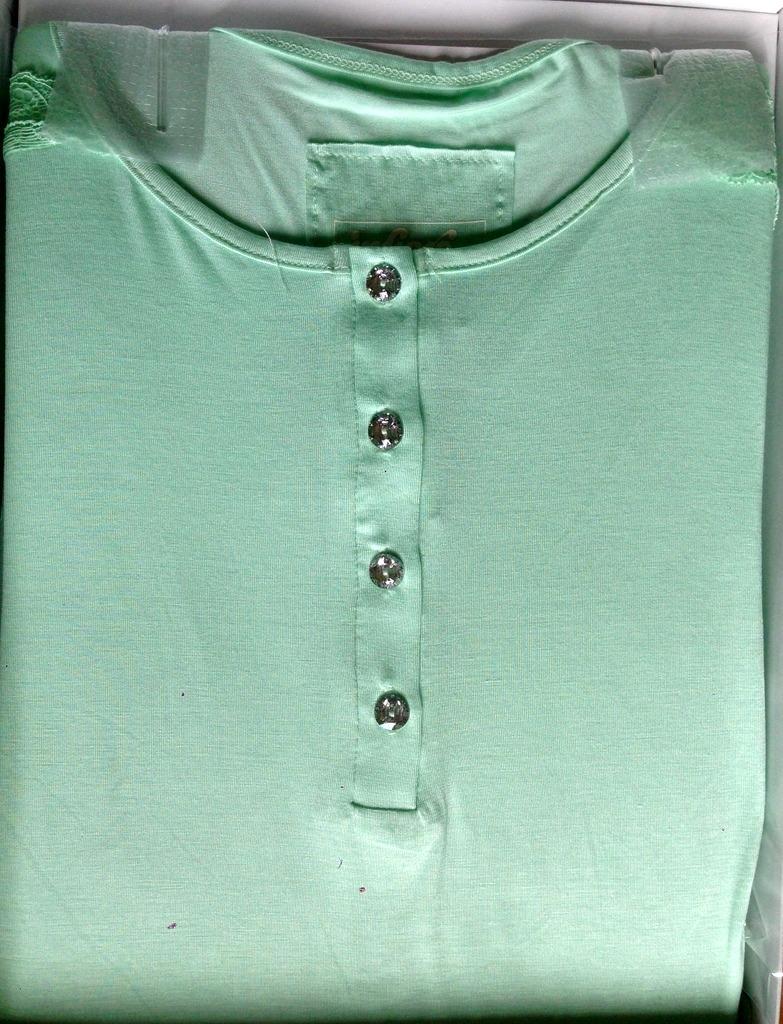 Camicia da notte Infiore BLU3715 pistacchio